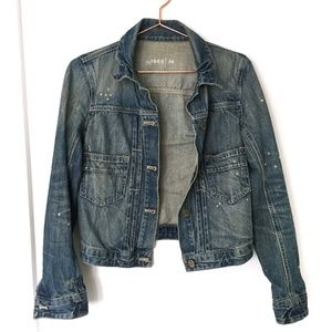 GAP 1969 Jean Jacket with Elbow Patches